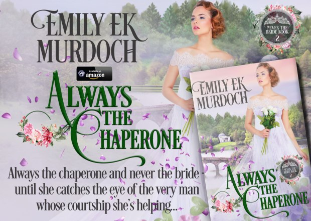 Emily E K Murdoch's next book 'Always the Bridesmaid' is out now. A woman in a white dress carrying flowers is looking into the distance as though waiting for someone